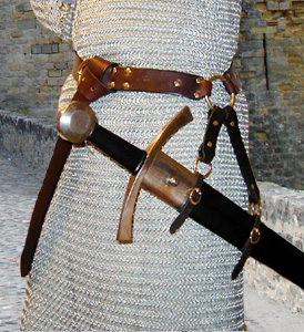 Our Sword Belt of the Circle is based on an example in a late Medieval ...